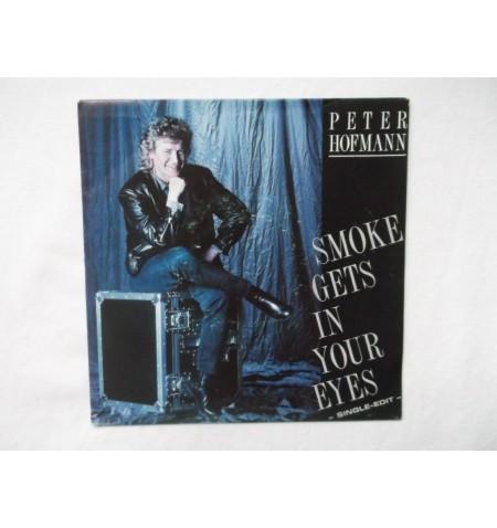 Retro vinyl onderzettters 6 stuks